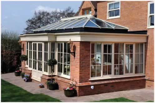 Orangeries extension to existing home
