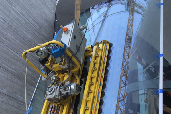 Glass pane installation