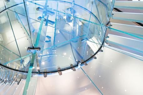 Frameless Glass Staircase