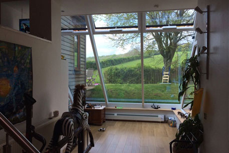 Glass Roofing Conservatory