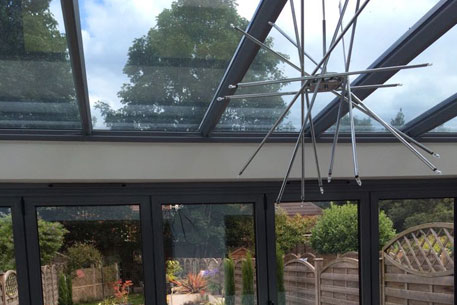 Glass Roofing in conservatory