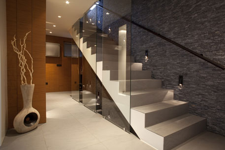 Glass Screen Stairs