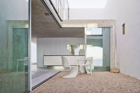 Moving Glass Walls Interior