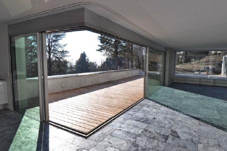 Moving Glass Walls Landing