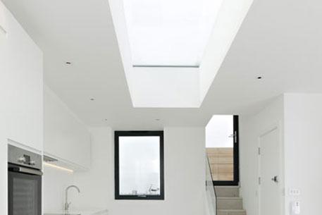 Rooflight in Modern Kitchen