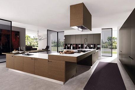Glass kitchen