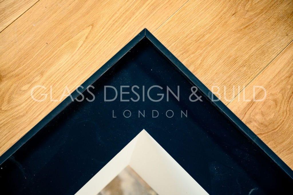 Glass Floor Corner Trim Surrey