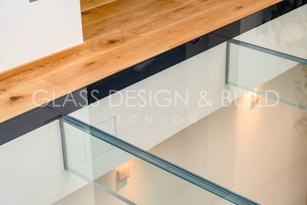 Glass Flooring from above Surrey