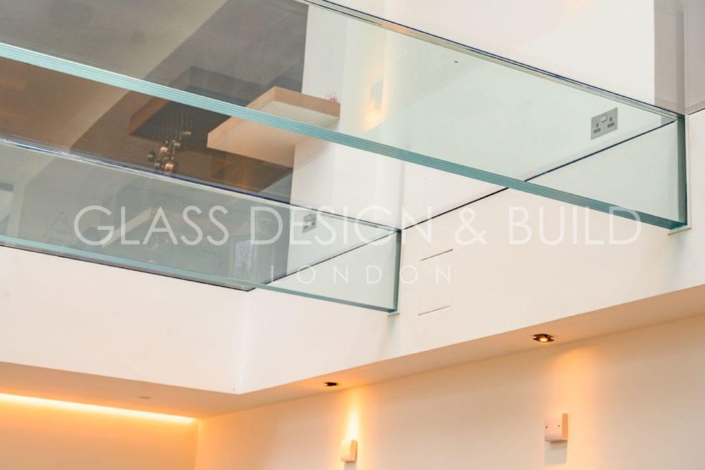 Glass Flooring from below Surrey