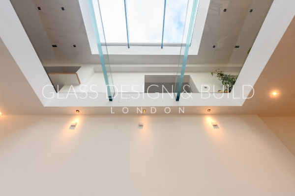 Glass Flooring Below Lighting