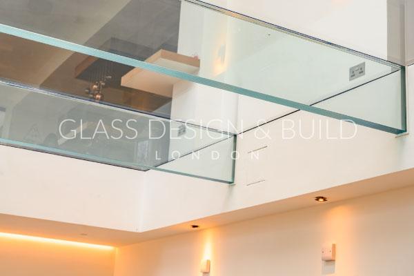 Glass Flooring Lights Below