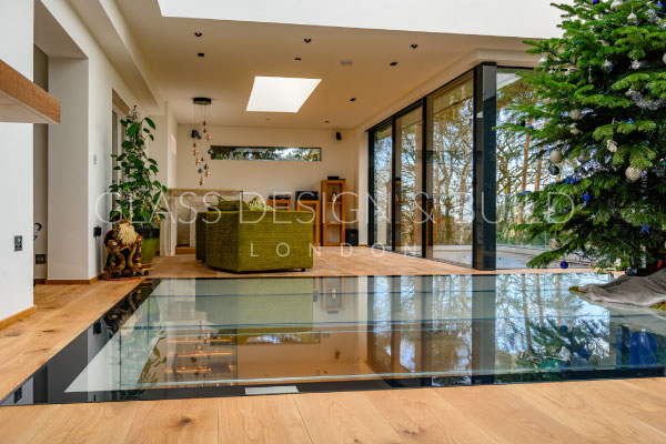Glass Flooring Living Area
